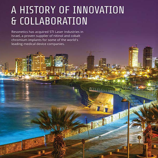 A history of innovation and collaboration